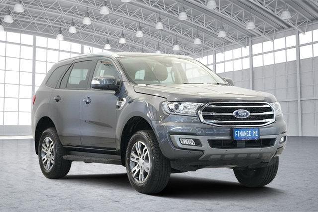 Used Ford Everest UA II 2019.00MY Trend RWD, 2019 Ford Everest UA II 2019.00MY Trend RWD Meteor Grey 10 Speed Sports Automatic Wagon