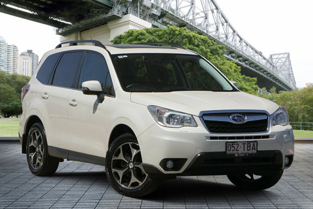 Used Subaru Forester S4 MY13 2.5i-S Lineartronic AWD, 2013 Subaru Forester S4 MY13 2.5i-S Lineartronic AWD White 6 Speed Constant Variable Wagon