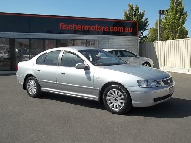 Used Ford Fairmont BA , 2003 Ford Fairmont BA Silver 4 Speed Automatic Sedan