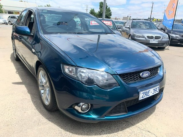 Used Ford Falcon FG XR6, 2010 Ford Falcon FG XR6 Green 5 Speed Sports Automatic Sedan