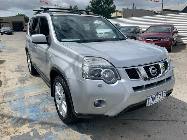 Used Nissan X-Trail T31 Series IV TI, 2011 Nissan X-Trail T31 Series IV TI Silver 1 Speed Constant Variable Wagon