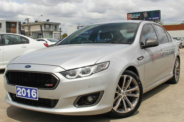 Used Ford Falcon FG X XR6 Turbo, 2016 Ford Falcon FG X XR6 Turbo Silver 6 Speed Sports Automatic Sedan