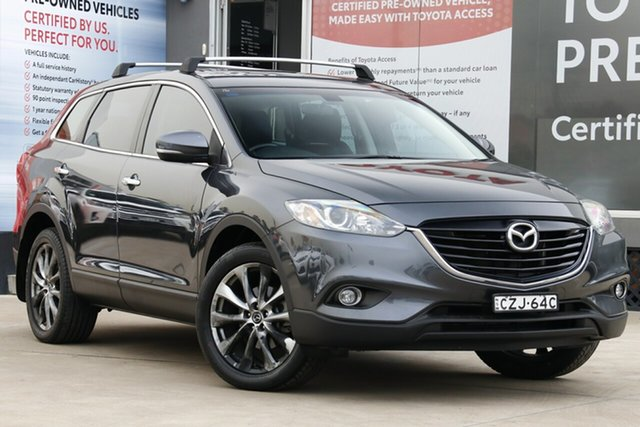 Used Mazda CX-9 MY14 Luxury (FWD), 2015 Mazda CX-9 MY14 Luxury (FWD) Grey 6 Speed Auto Activematic Wagon