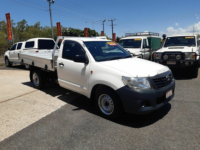 Used Toyota Hilux  Workmate, 2014 Toyota Hilux Workmate White 5 Speed Manual Single Cab