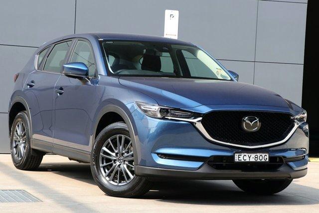 Demo Mazda CX-5 KF4WLA Maxx SKYACTIV-Drive i-ACTIV AWD Sport, 2019 Mazda CX-5 KF4WLA Maxx SKYACTIV-Drive i-ACTIV AWD Sport Eternal Blue 6 Speed Sports Automatic