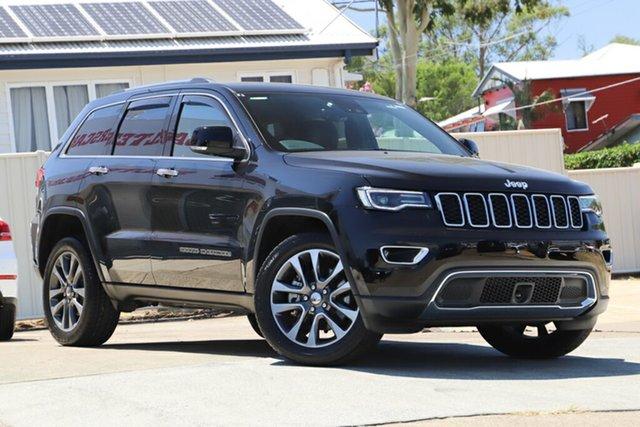 Used Jeep Grand Cherokee WK MY18 Limited, 2017 Jeep Grand Cherokee WK MY18 Limited Black 8 Speed Sports Automatic Wagon