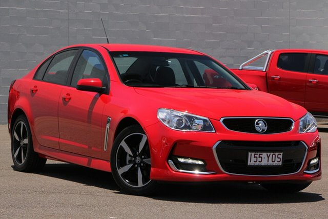 Used Holden Commodore VF II MY17 SV6, 2017 Holden Commodore VF II MY17 SV6 Red 6 Speed Sports Automatic Sedan
