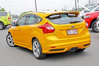 2013 Ford Focus LW MkII ST Orange 6 Speed Manual Hatchback.
