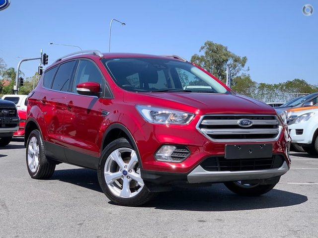 Used Ford Escape ZG 2019.25MY Trend 2WD, 2019 Ford Escape ZG 2019.25MY Trend 2WD Red 6 Speed Sports Automatic Wagon