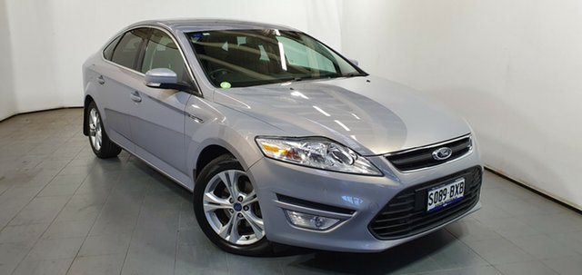 Used Ford Mondeo MC Zetec PwrShift TDCi, 2012 Ford Mondeo MC Zetec PwrShift TDCi Grey 6 Speed Sports Automatic Dual Clutch Hatchback
