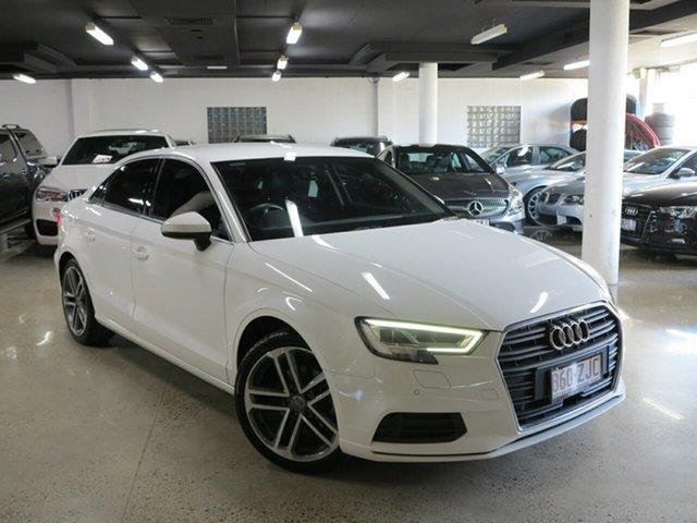 Used Audi A3 8V MY17 S Tronic, 2017 Audi A3 8V MY17 S Tronic White 7 Speed Sports Automatic Dual Clutch Sedan