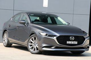 2019 Mazda 3 BP2S7A G20 SKYACTIV-Drive Evolve Machine Grey 6 Speed Sports Automatic Sedan.