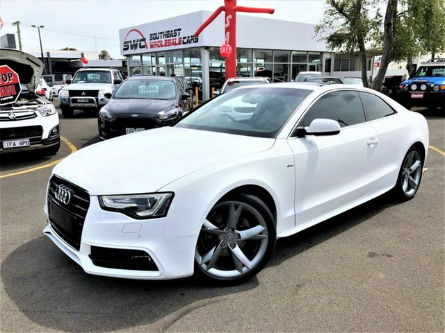 Used Audi A5 8T MY16 S Line Plus Multitronic, 2016 Audi A5 8T MY16 S Line Plus Multitronic White 8 Speed Constant Variable Coupe