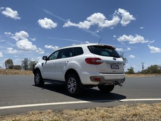 2018 Ford Everest UA II 2019.00MY Trend 4WD Arctic White 10 Speed Sports Automatic Wagon