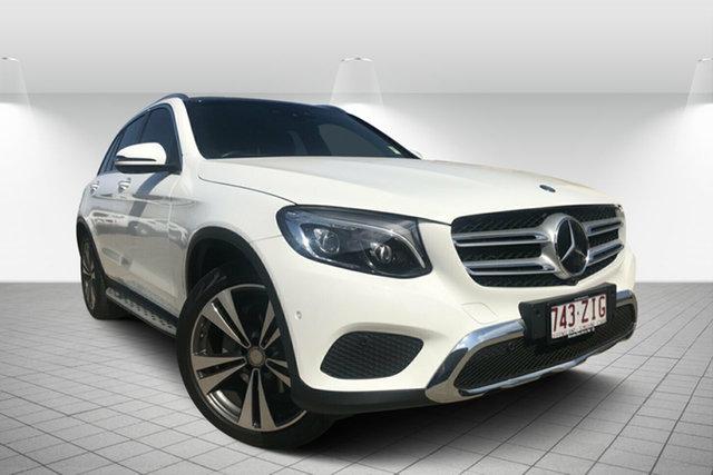 Used Mercedes-Benz GLC-Class X253 GLC250 9G-Tronic 4MATIC, 2016 Mercedes-Benz GLC-Class X253 GLC250 9G-Tronic 4MATIC White 9 Speed Sports Automatic Wagon