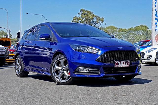 Used Ford Focus LZ ST, 2017 Ford Focus LZ ST Blue 6 Speed Manual Hatchback