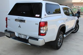 2019 Mitsubishi Triton MR MY19 GLS Double Cab White Diamond 6 Speed Sports Automatic Utility.