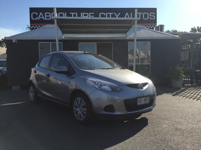 Used Mazda 2 DE Neo, 2009 Mazda 2 DE Neo Grey 5 Speed Manual Hatchback