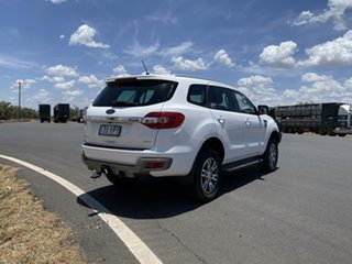2018 Ford Everest UA II 2019.00MY Trend 4WD Arctic White 10 Speed Sports Automatic Wagon.
