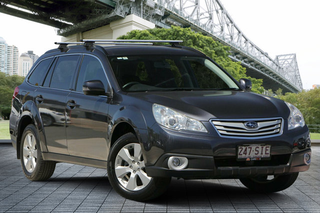 Used Subaru Outback B5A MY12 2.5i Lineartronic AWD, 2012 Subaru Outback B5A MY12 2.5i Lineartronic AWD Grey 6 Speed Constant Variable Wagon