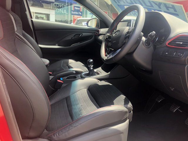Demo Hyundai i30 PDe.3 MY19 N Fastback Performance, 2019 Hyundai i30 PDe.3 MY19 N Fastback Performance Engine Red 6 Speed Manual Coupe