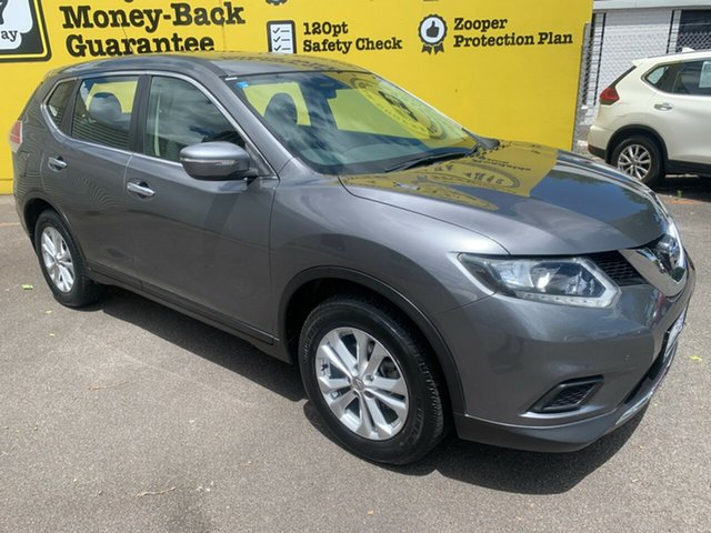 Used Nissan X-Trail T32 ST X-tronic 4WD, 2014 Nissan X-Trail T32 ST X-tronic 4WD Gun Metallic 7 Speed Constant Variable Wagon