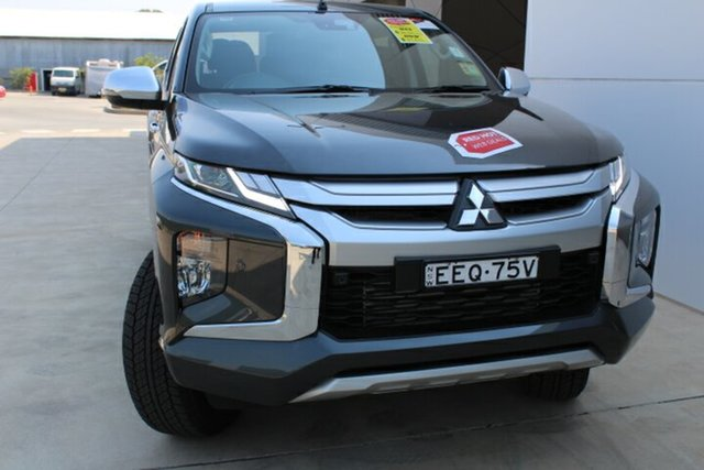 Demo Mitsubishi Triton MR MY19 GLS Double Cab, 2019 Mitsubishi Triton MR MY19 GLS Double Cab Graphite Grey 6 Speed Sports Automatic Utility