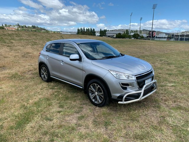 Used Peugeot 4008 MY12 Active 4WD, 2012 Peugeot 4008 MY12 Active 4WD Silver 6 Speed Constant Variable Wagon