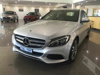 2018 Mercedes-Benz C-Class W205 808MY C200 9G-Tronic Silver 9 Speed Sports Automatic Sedan.