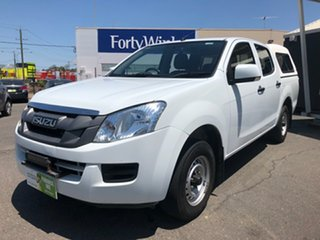 2014 Isuzu D-MAX TF MY15 SX (4x2) White 5 Speed Manual Crew Cab Utility