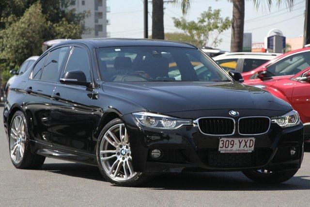 Used BMW 3 Series F30 LCI 320d M Sport, 2016 BMW 3 Series F30 LCI 320d M Sport Black 8 Speed Sports Automatic Sedan