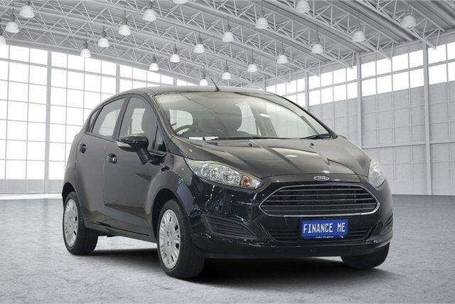 Used Ford Fiesta WZ MY15 Ambiente PwrShift, 2015 Ford Fiesta WZ MY15 Ambiente PwrShift Black 6 Speed Sports Automatic Dual Clutch Hatchback
