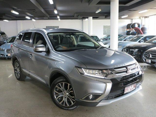 Used Mitsubishi Outlander ZK MY16 XLS 2WD, 2016 Mitsubishi Outlander ZK MY16 XLS 2WD Grey 6 Speed Constant Variable Wagon