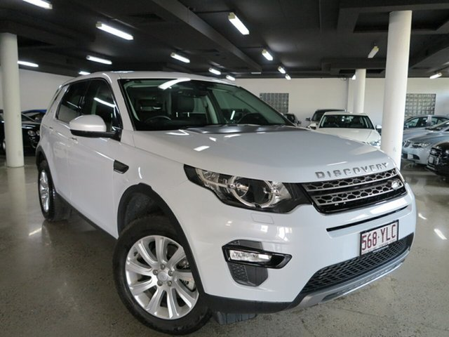 Used Land Rover Discovery Sport L550 16.5MY Td4 SE, 2016 Land Rover Discovery Sport L550 16.5MY Td4 SE Fuji White 9 Speed Sports Automatic Wagon