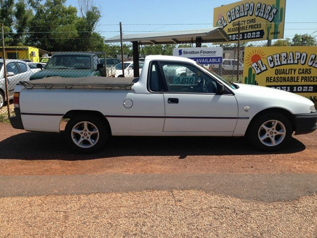Used Holden Commodore Ute  , 2000 Holden Commodore Ute White 4 Speed Automatic Utility