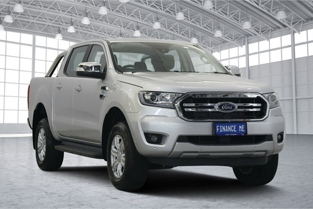 Used Ford Ranger PX MkII 2018.00MY XLT Double Cab 4x2 Hi-Rider, 2018 Ford Ranger PX MkII 2018.00MY XLT Double Cab 4x2 Hi-Rider Ingot Silver 6 Speed Sports Automatic