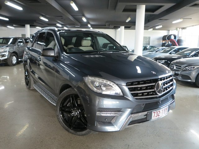 Used Mercedes-Benz M-Class W166 ML350 BlueTEC 7G-Tronic +, 2013 Mercedes-Benz M-Class W166 ML350 BlueTEC 7G-Tronic + Tenorite Grey 7 Speed Sports Automatic