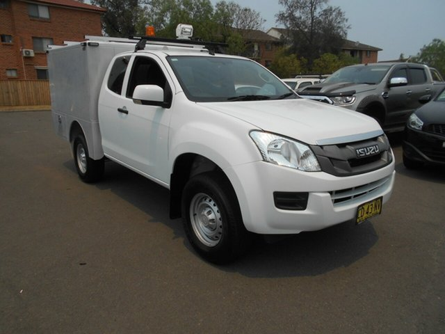 Used Isuzu D-MAX TF MY14 SX (4x4), 2014 Isuzu D-MAX TF MY14 SX (4x4) White 5 Speed Automatic Space Cab Chassis