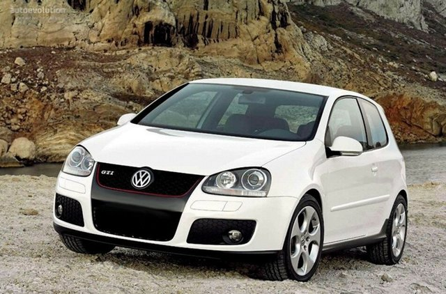 Used Volkswagen Golf V MY09 GTI DSG, 2008 Volkswagen Golf V MY09 GTI DSG White 6 Speed Sports Automatic Dual Clutch Hatchback