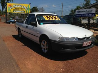 2000 Holden Commodore Ute White 4 Speed Automatic Utility.
