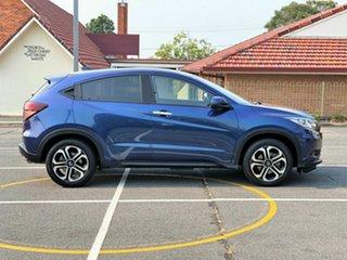 2017 Honda HR-V MY17 VTi-L Blue 1 Speed Constant Variable Hatchback.