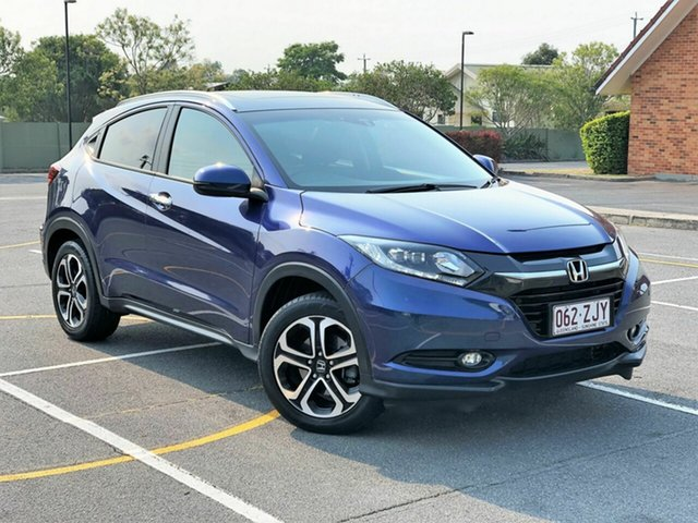 Used Honda HR-V MY17 VTi-L, 2017 Honda HR-V MY17 VTi-L Blue 1 Speed Constant Variable Hatchback