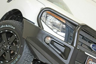 2014 Ford Ranger PX XL 3.2 (4x4) White 6 Speed Manual Super Cab Chassis.