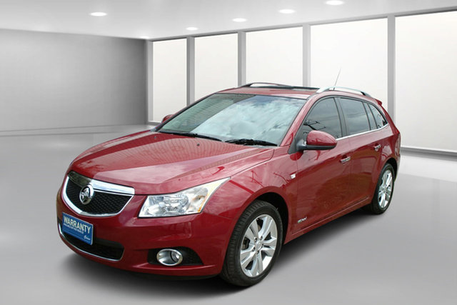 Used Holden Cruze JH Series II MY14 CDX Sportwagon, 2014 Holden Cruze JH Series II MY14 CDX Sportwagon Velvet Red 6 Speed Sports Automatic Wagon