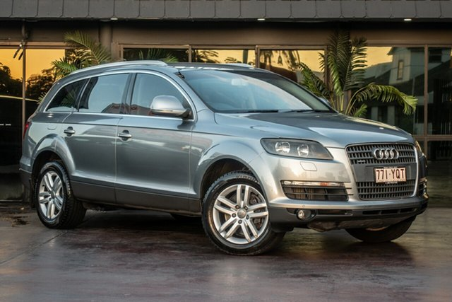 Used Audi Q7 MY07 TDI Quattro, 2007 Audi Q7 MY07 TDI Quattro Grey 6 Speed Sports Automatic Wagon