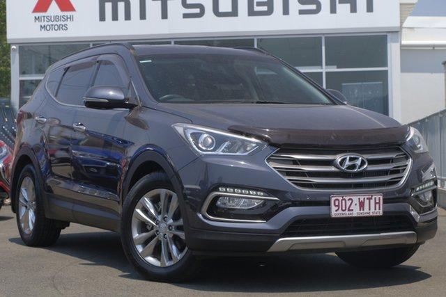 Used Hyundai Santa Fe DM3 MY16 Elite, 2015 Hyundai Santa Fe DM3 MY16 Elite Ocean Blue 6 Speed Sports Automatic Wagon