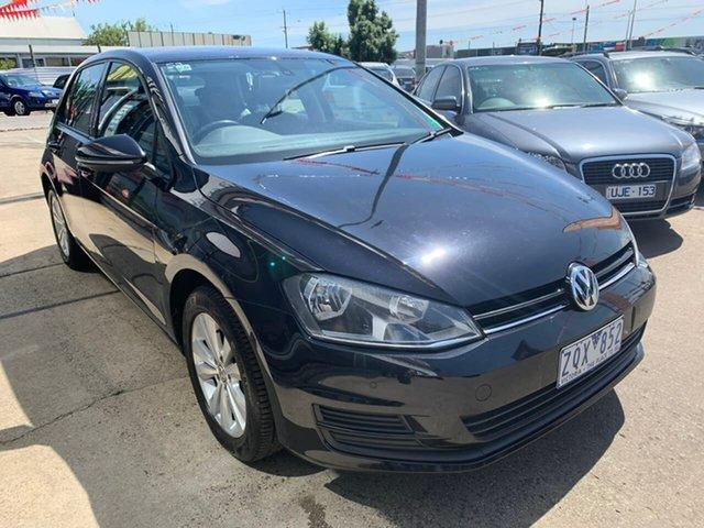 Used Volkswagen Golf VII 90TSI DSG Comfortline, 2013 Volkswagen Golf VII 90TSI DSG Comfortline Black 7 Speed Sports Automatic Dual Clutch Hatchback
