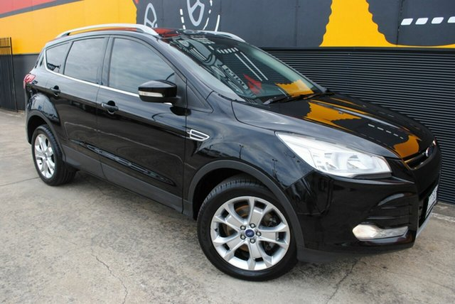 Used Ford Kuga TF Trend PwrShift AWD, 2013 Ford Kuga TF Trend PwrShift AWD Panthertblack 6 Speed Sports Automatic Dual Clutch Wagon