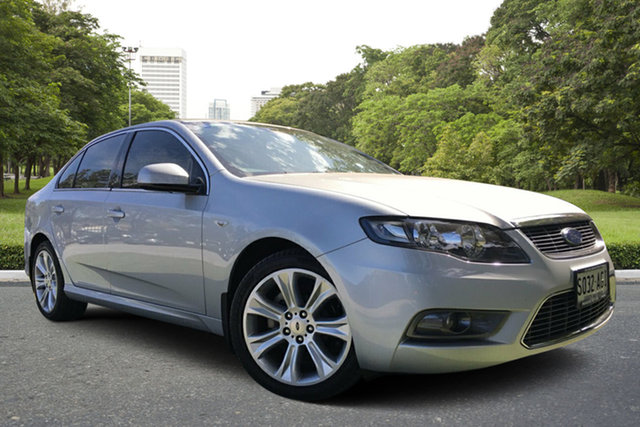 Used Ford Falcon FG G6, 2010 Ford Falcon FG G6 Silver 5 Speed Sports Automatic Sedan