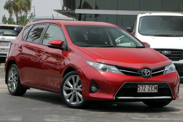 Used Toyota Corolla ZRE182R Levin SX, 2012 Toyota Corolla ZRE182R Levin SX Red 6 Speed Manual Hatchback